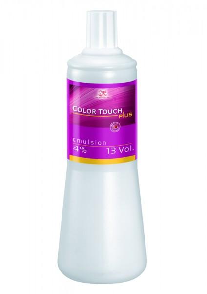 Wella Color Touch Plus Emulsion 4% 1L