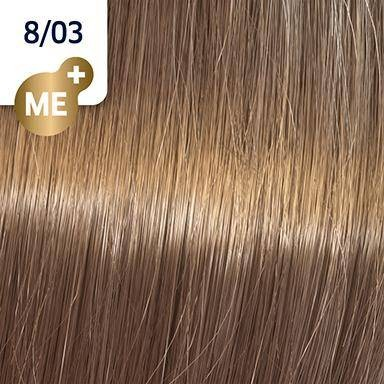 Wella Koleston Perfect ME+ Pure Naturals 8/03 hellblond natur-gold 60ML